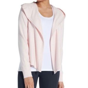 CALIA Open Front Hooded waterfall Cardigan Medium